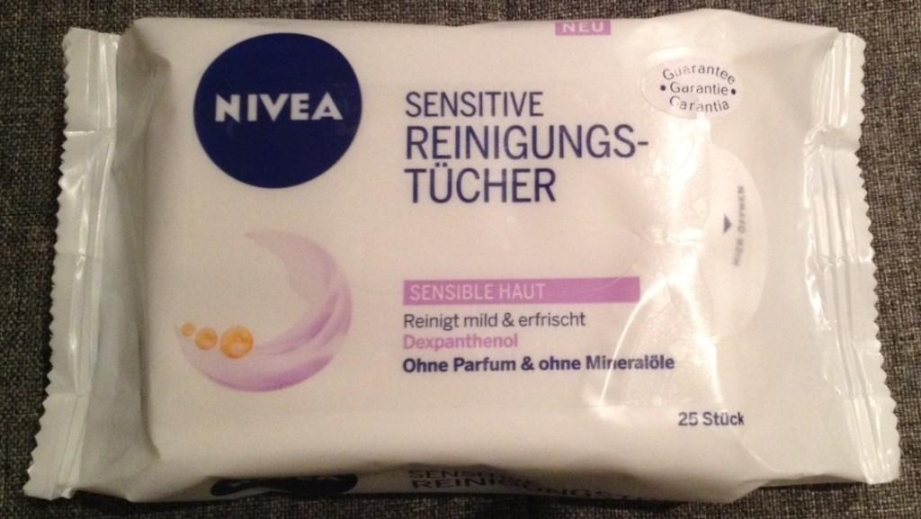 Produkttest Nivea Sensitive Reinigungstücher