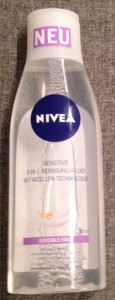 Produkttest Nivea Sensitive Reinigungsfluid