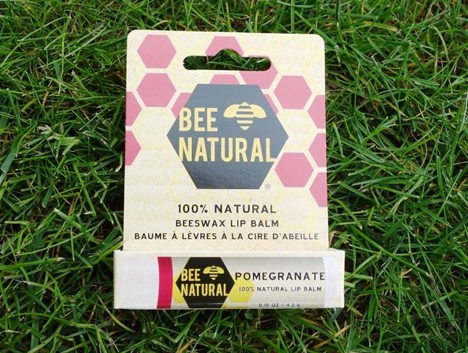 Bee Natural Lippenbalsam Granatapfel