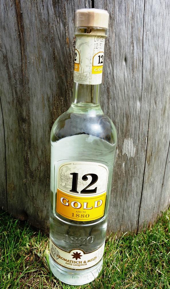 12 Gold Ouzo