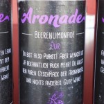 Aronade – Die fruchtig, freche Bio-Beerenlimonade