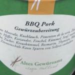 BBQ Pork Gewürzzubereitung von Ingo Holland für die Grillsaison