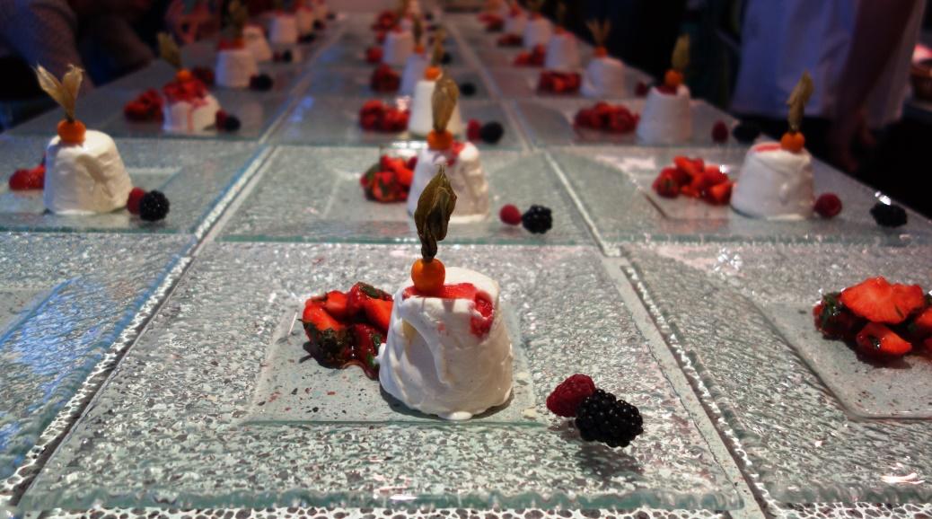 Iglo Botschafter Event Erdbeer Parfait
