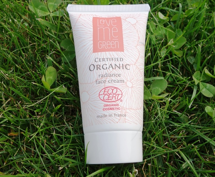 Organic Radiance Day Face Cream Love me Green