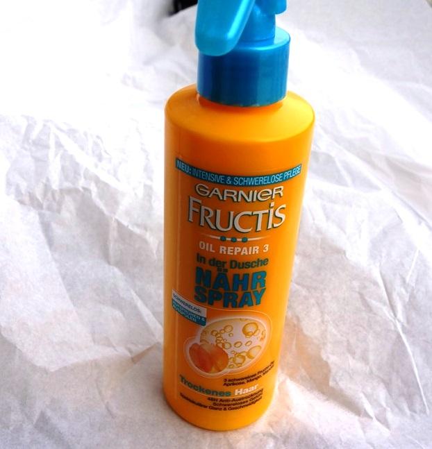 Garnier Fructis Oil Repair 3 In der Dusche Nähr Spray