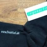 Schweißfüße Ade – Freshfoot macht es möglich