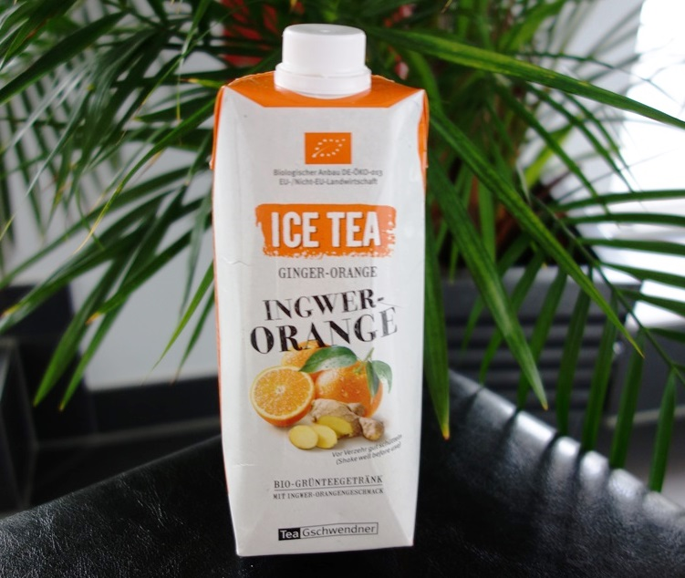Ice Tea Ingwer Orange