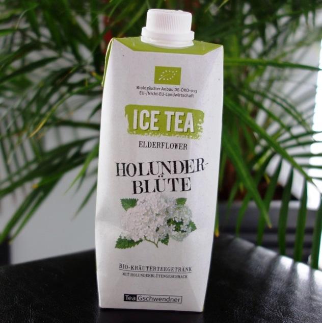 Ice Tea Holunderblüte