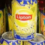 Lipton Sparkling Classic und Peach sorgt für prickelnde Momente