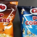 Neu: Chio PopCorners Sweet und Sea Salt