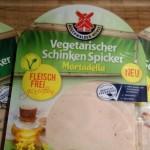 Vegetarischer Schinken Spicker von Rügenwalder Mühle – Einführung der ersten vegetarischen Produkte