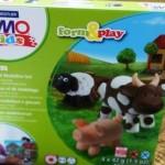 Fimo kids form & play Farm von Stadtler: Kinder modellieren Tiere