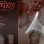 Produktvorstellung Nuby Natural Touch Milchpumpen-Set