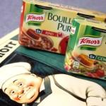Knorr Bouillon PUR Gemüse und Rind