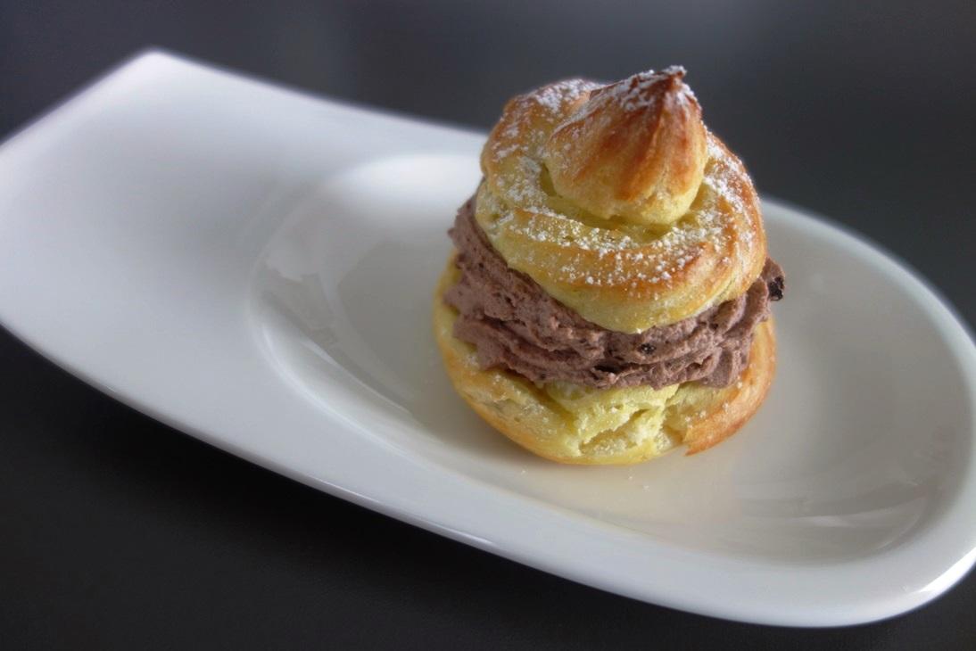Muffin mit Schokocreme Oetker