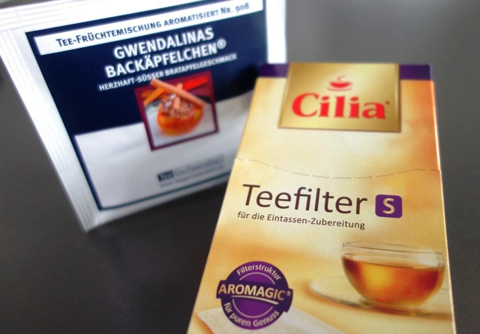Cilia Teefilter S