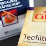 Cilia Teefilter S für die Zubereitung einer Tasse Tee