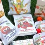 Gesunde Kindersnacks aus Obst und Gemüse gibt es von Freche Freunde