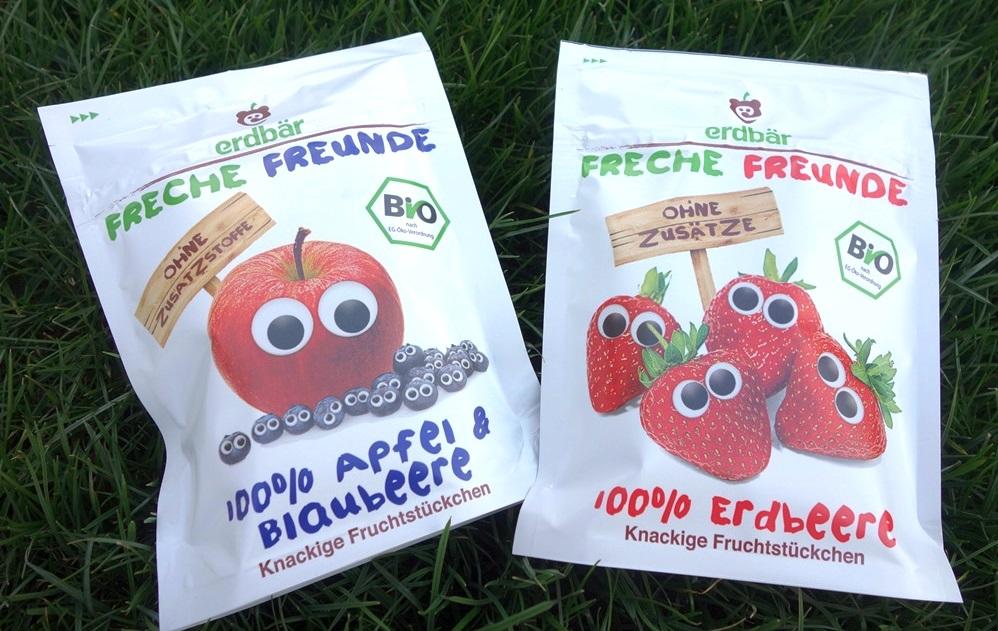 Knackige Fruchtstückchen Freche Freunde