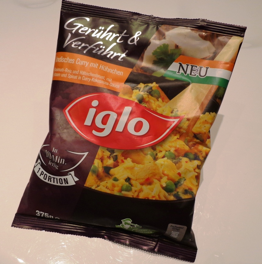 Iglo Indisches Curry