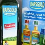 Rapsöl Pur & Mild von Rapsgold ist gesünder als Olivenöl