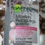 Produkttest Garnier Mizellen Reinigungswasser