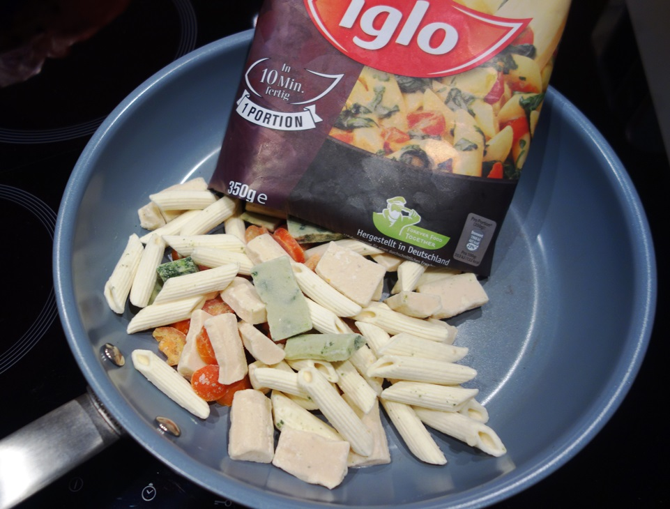 Iglo Penne Spinat