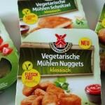 Vegetarische Mühlen Schnitzel und Nuggets von Rügenwalder Mühle