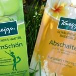 Kneipp Hautöl FormSchön und Kneipp Badesalz im Test
