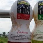 Neu von Pfanner: Pure Tea Grüner Tee & Pure Tea Früchtetee