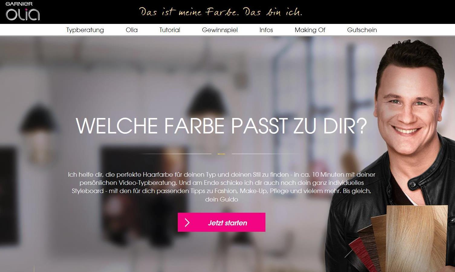 online typberatung garnier mit guido maria kretschmer testgiraffe