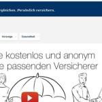 Versicherer online finden mit passt24