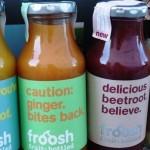 Smoothies von Froosh sind 100% pure Frucht