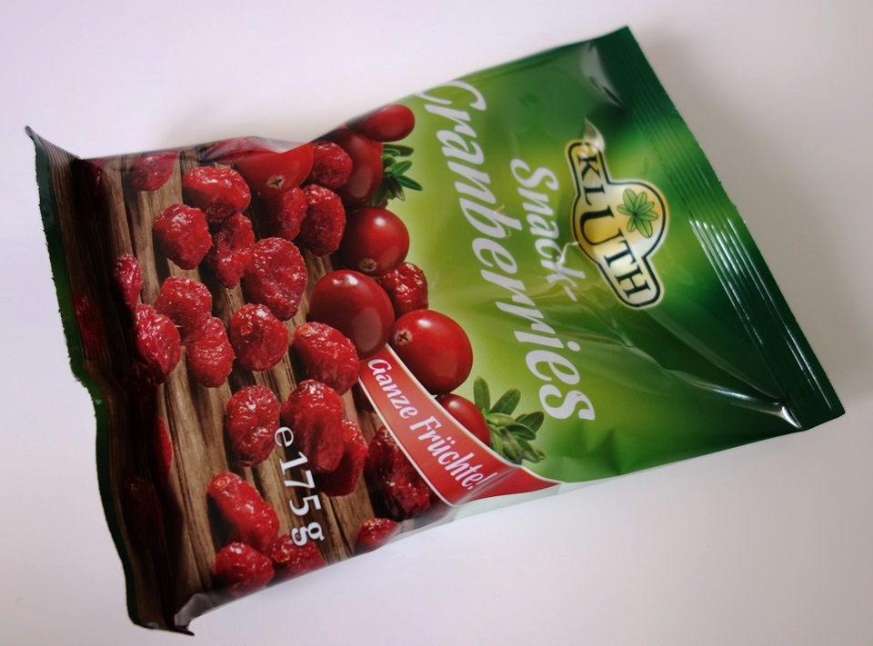 Snack-Cranberries von Kluth
