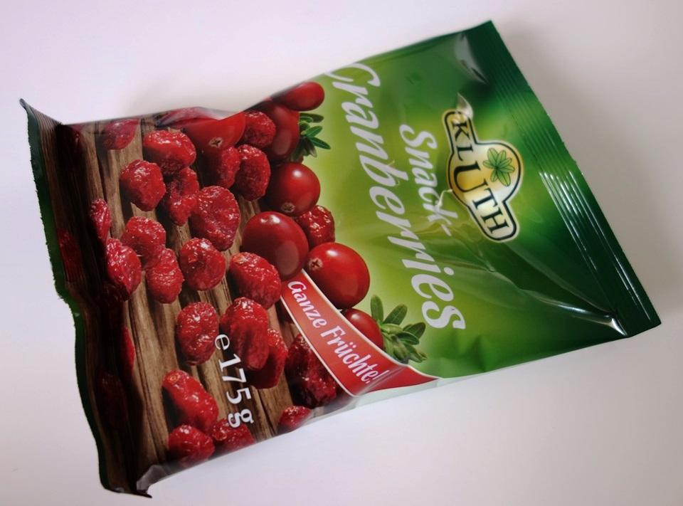 Snack-Cranberries von Kluth