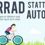 Fahrrad statt Auto – Die Vorteile im Überblick