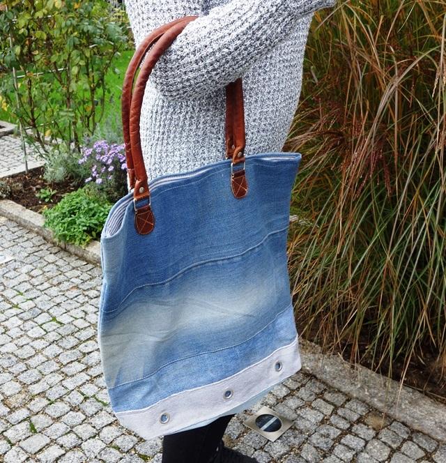 Jeans-Shopper von Jeans-Fritz