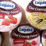 Neu von Exquisa: Der Cremig-Feine in 5 Sorten