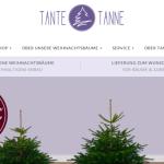 Weihnachtsbäume online bestellen bei Tante Tanne