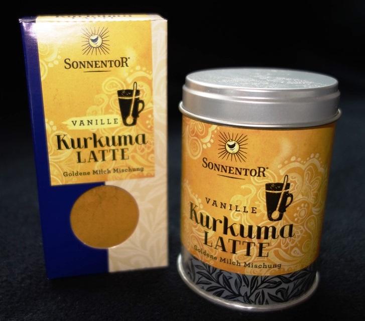 Sonnentor Kurkuma Latte Vanille