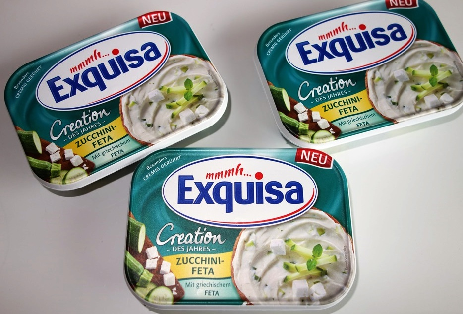 Exquisa Creation des Jahres Zucchini-Feta