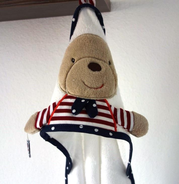Kapuzen-Badetuch Teddy von babyFehn