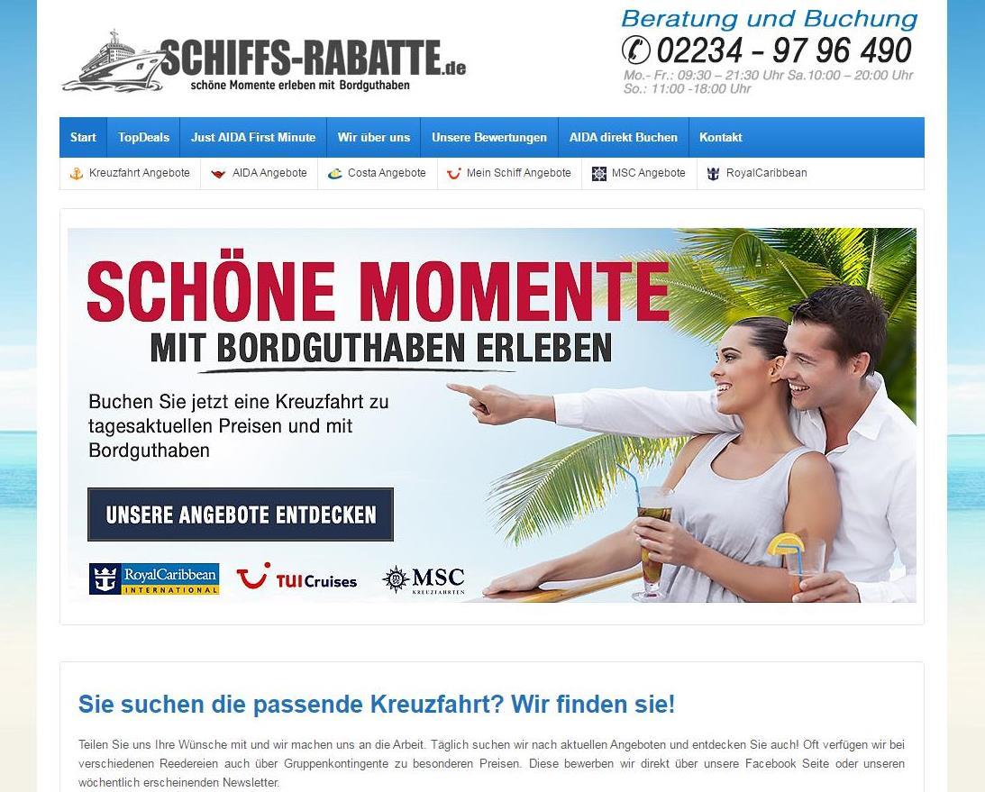 Schiffs-Rabatte