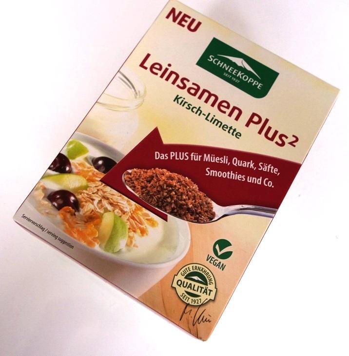 Schneekoppe: Leinsamen Plus² Kirsch-Limette