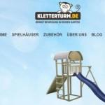 Shopvorstellung Kletterturm.de – Spieltürme, Klettertürme mit oder ohne Rutsche