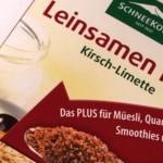 Neu von Schneekoppe: Leinsamen Plus² Kirsch-Limette