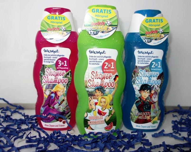 tetesept Shampoo & Shower Mutige Fee, Coole Kicker, Starker Held