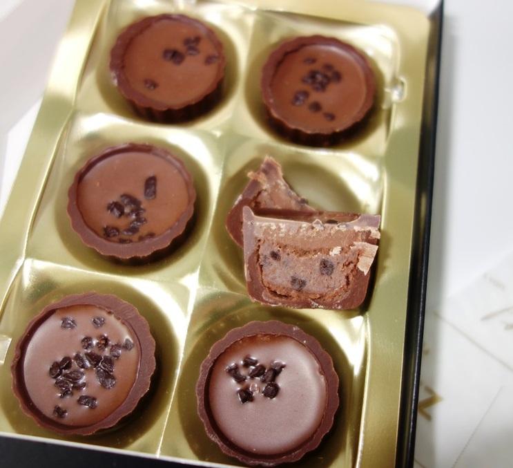 Brownie Confiserie Töpfchen Hachez