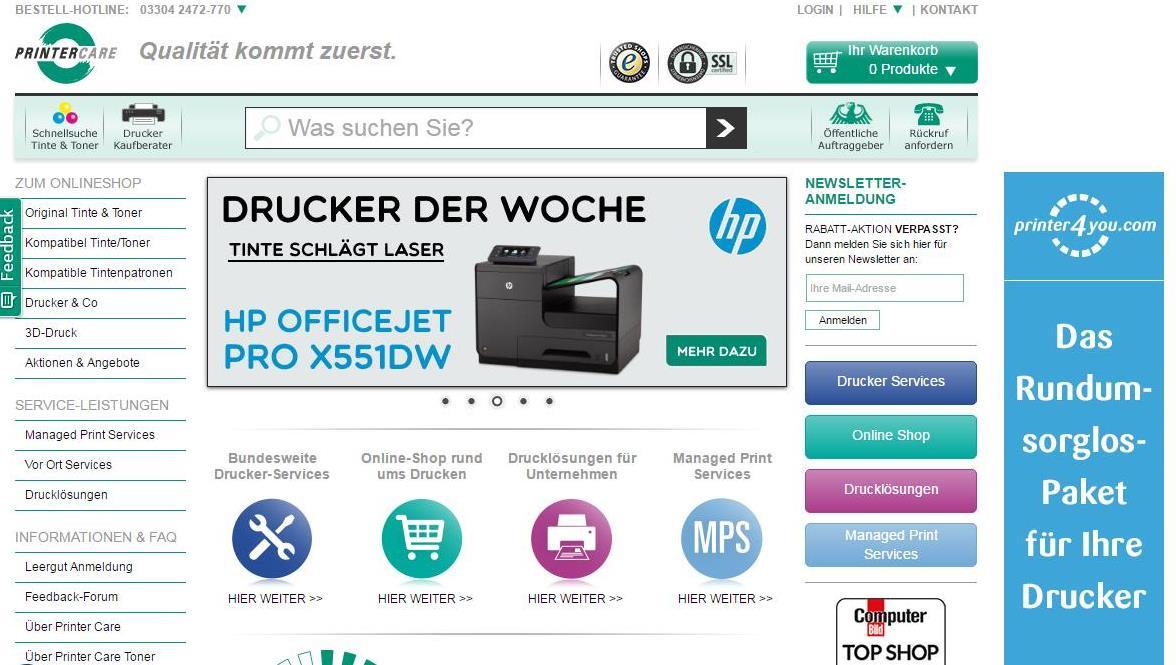 Printer Care