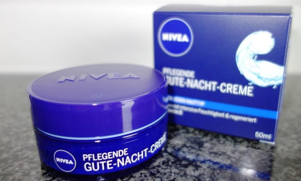 Nivea Creme Pflege Gute-Nacht-Creme
